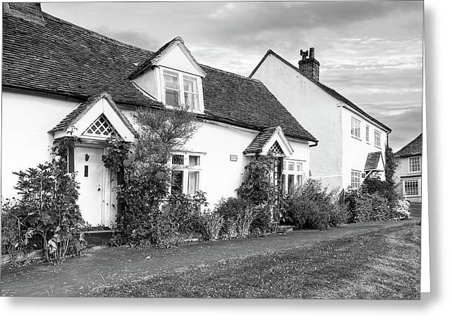 Causeway Cottages Finchingfield Greeting Card