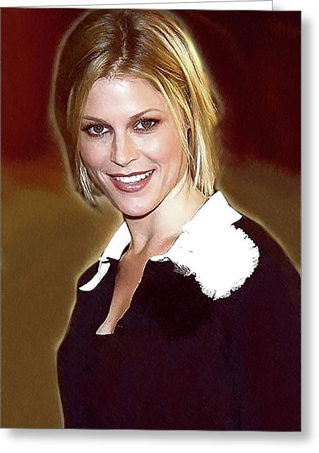 Celebrity Julie Bowen  Greeting Card by Best Actors