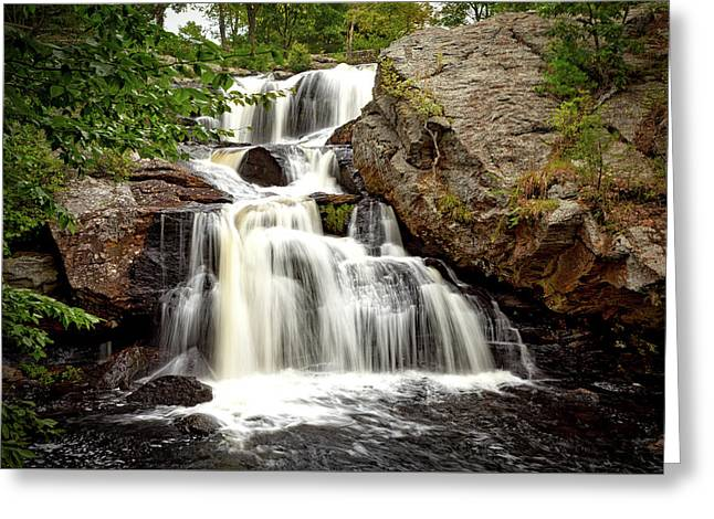Chapman Falls Greeting Card by Mountain Dreams