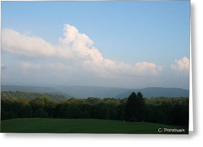 Chapman Family Cemetary Greeting Card by Carolyn Postelwait