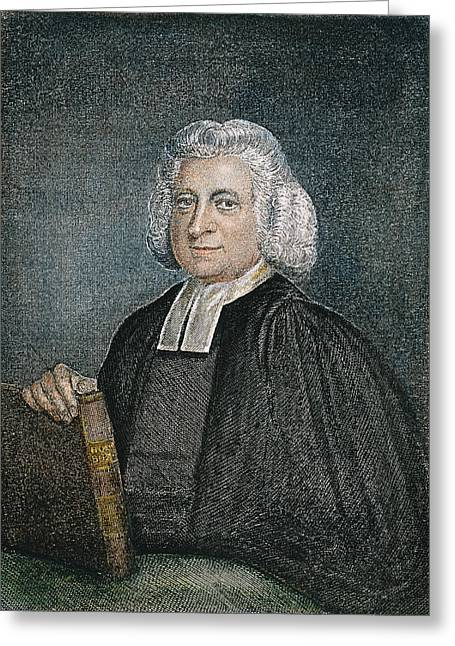 Evangelical Greeting Cards - Charles Wesley (1707-1788) Greeting Card by Granger