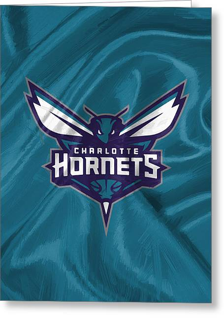 Charlotte Hornets Greeting Card