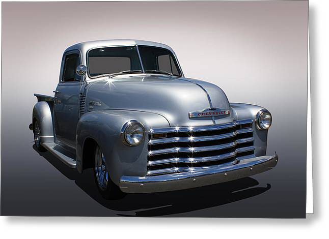 Chevy Pickup Greeting Card by Keith Hawley