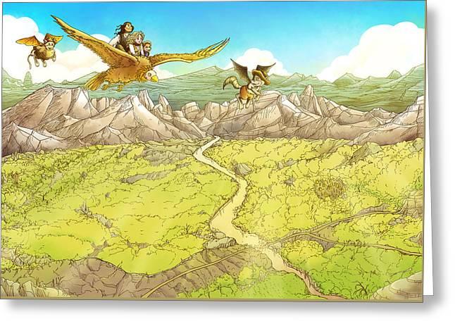 Chiricahua Mountains Greeting Card by Reynold Jay