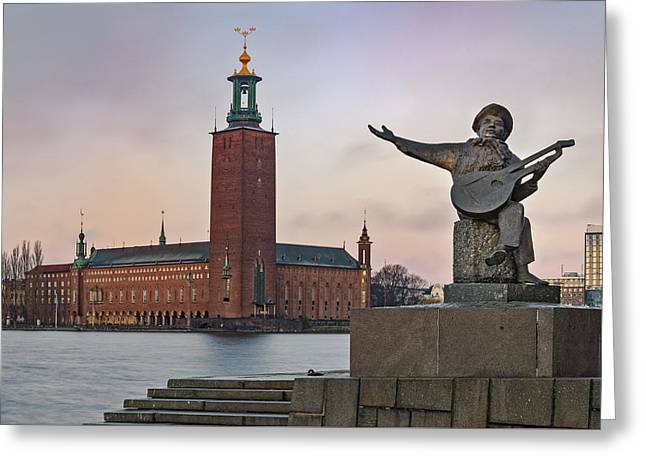 city hall - Stockholm Greeting Card