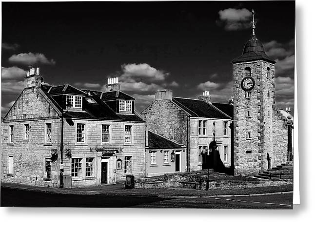 Clackmannan Greeting Card by Jeremy Lavender Photography