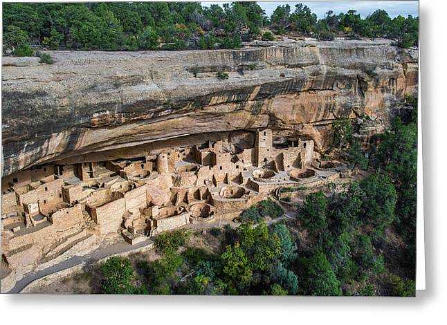 Cliff Palace Greeting Card by Joseph Smith