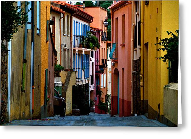 Collioure Greeting Card by K C Lynch