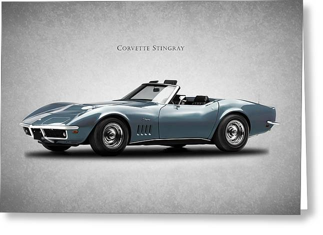 Corvette Stingray Greeting Card by Mark Rogan