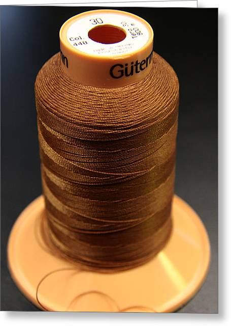 Cottons Threads Greeting Card by Adam Sworszt