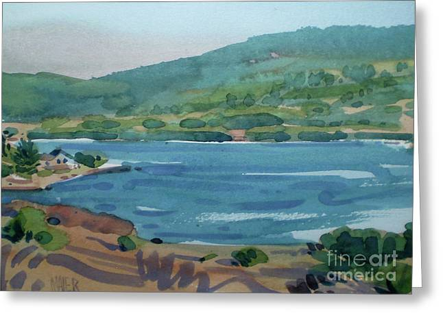 Reservoir Greeting Cards - Crystal Springs Greeting Card by Donald Maier