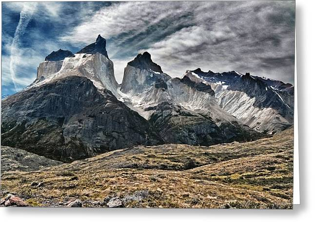 Cuernos Del Paine Greeting Card