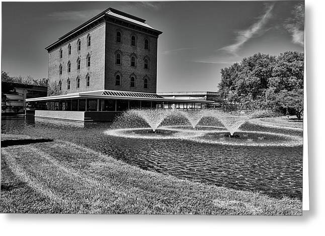 Cummins Cerealine Building - Columbus Indiana Greeting Card by L O C