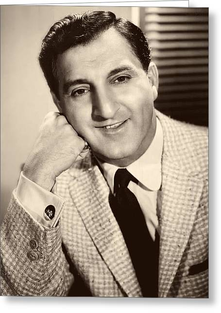 Danny Thomas 1957 Greeting Card by Mountain Dreams