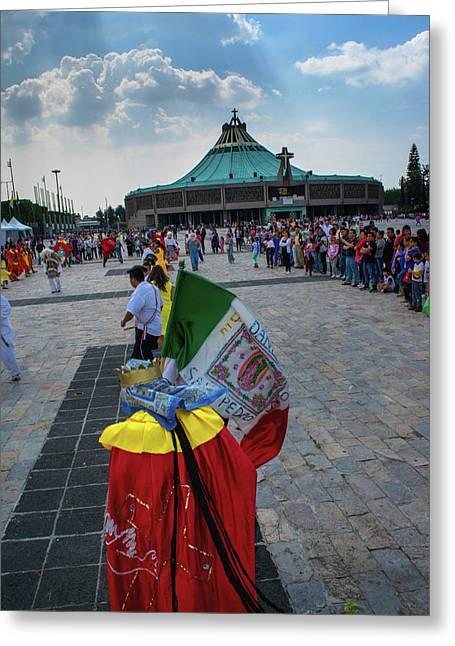 Danza Basilica De Guadalupe - Mexico Greeting Card
