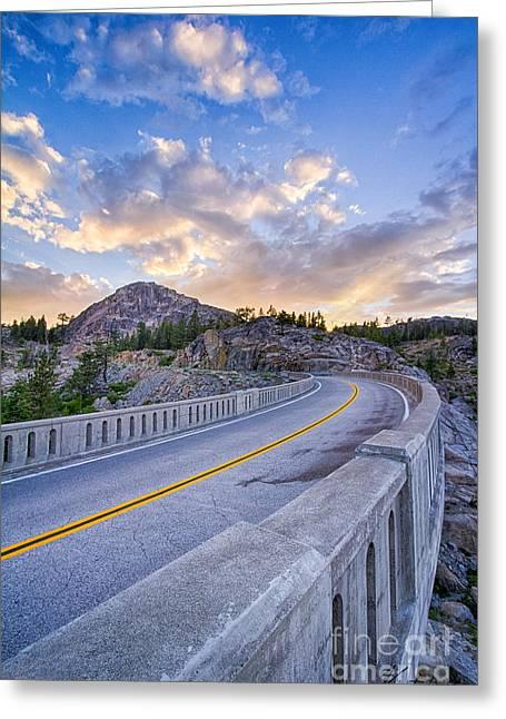 Donner Memorial Bridge Greeting Card