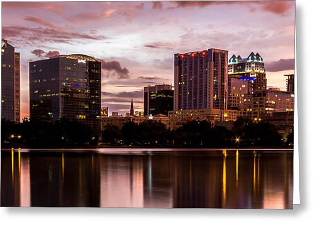 Downtown Orlando Greeting Card