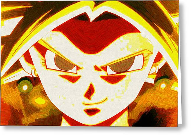 Dragon ball greeting cards page 8 of 8 fine art america dragon ball super greeting card m4hsunfo