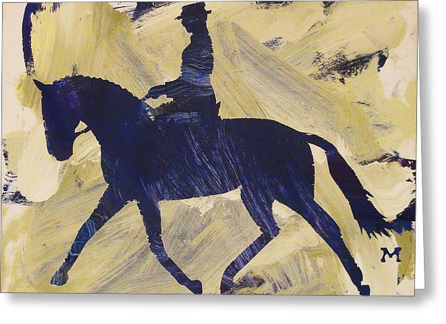 Dressage Queen Greeting Card