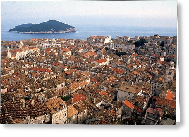 Dubrovnik Croatia Greeting Card by Erik Falkensteen