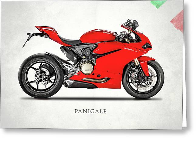 Ducati Panigale 1299 Greeting Card