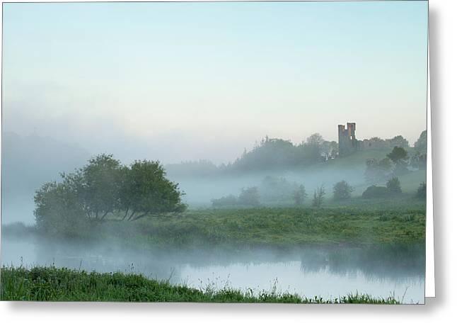 Dunmoe Castle County Meath Greeting Card