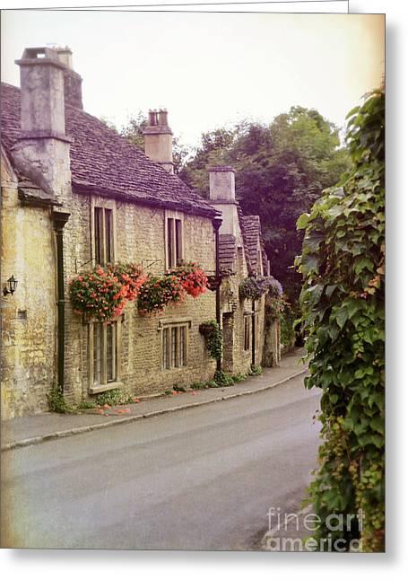Greeting Card featuring the photograph English Village by Jill Battaglia