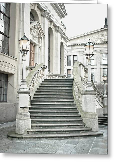 Entrance Steps Greeting Card