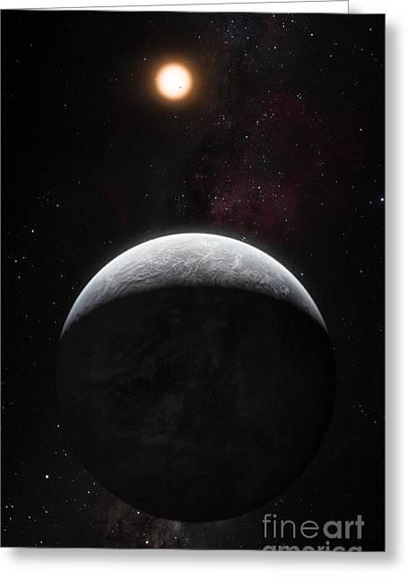 Exoplanet Hd 85512 B Greeting Card by ESO/Martin Kornmesser