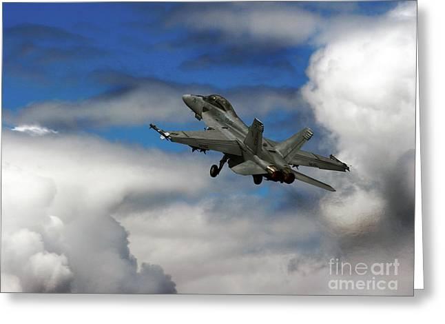 F-18 Superhornet Greeting Card