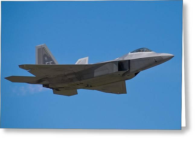F-22 Raptor Greeting Card