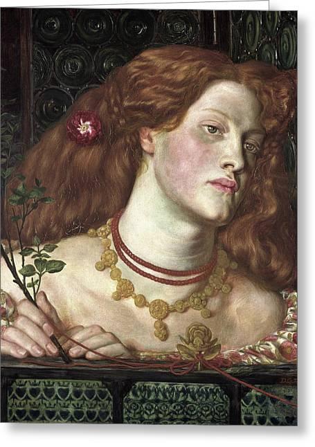 Fair Rosamund Greeting Card