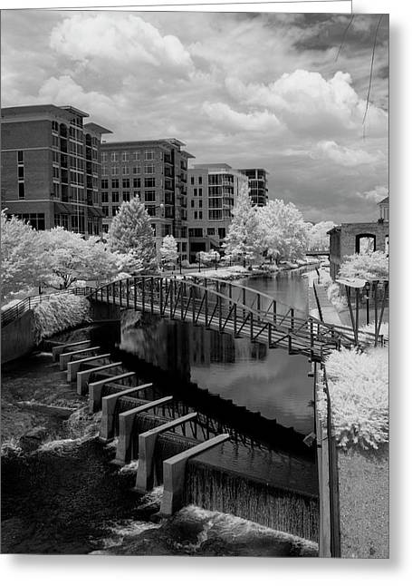 Falls Park On The Reedy Greeting Card