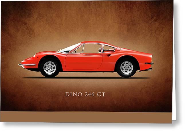 Ferrari Dino 246 Gt Greeting Card