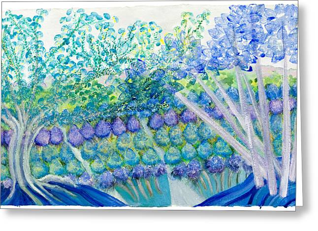 Field Of Dreams  Greeting Card by Ione Citrin