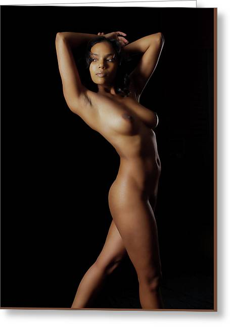 Fine Art Nude Figure Study Greeting Card by James Hammond