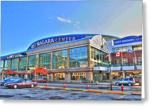 First Niagara Center Greeting Card