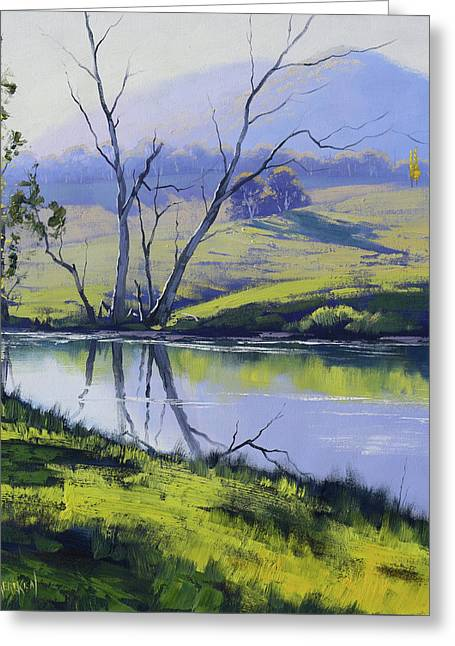 Fish River Tarana Greeting Card
