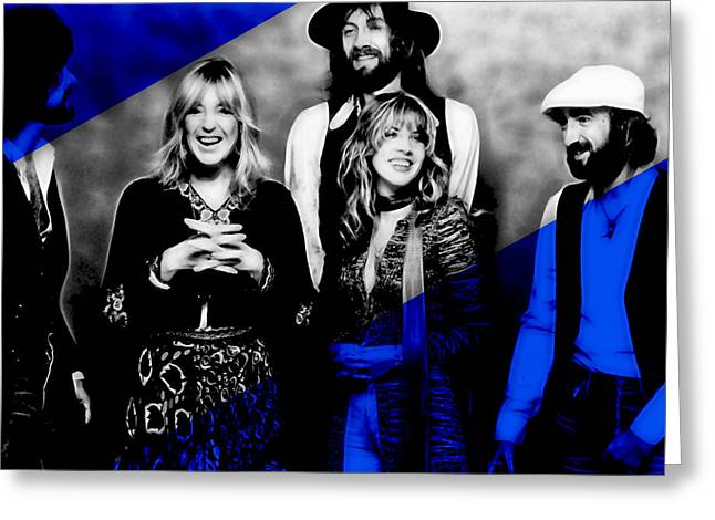 Fleetwood Mac Collection Greeting Card by Marvin Blaine