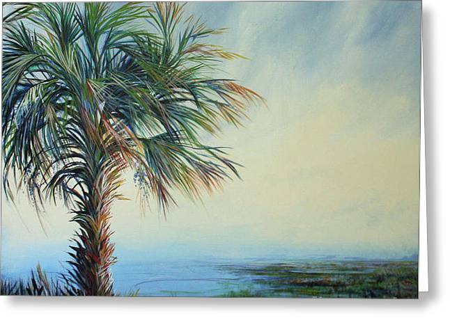 Florida Horizons Greeting Card by Michele Hollister - for Nancy Asbell