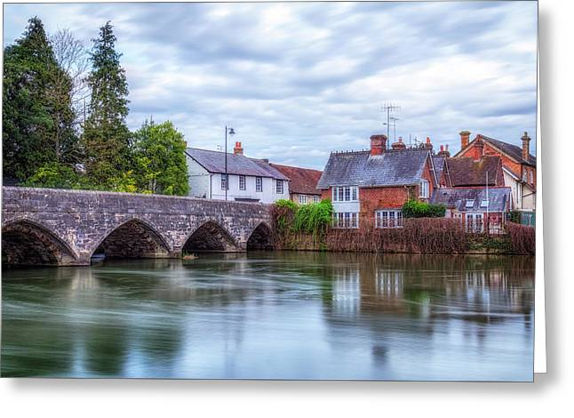 Fordingbridge - England Greeting Card by Joana Kruse
