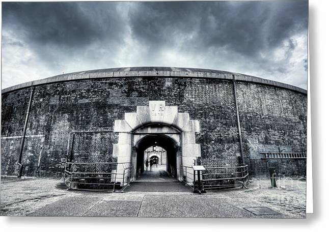 Fort Greeting Card by Svetlana Sewell