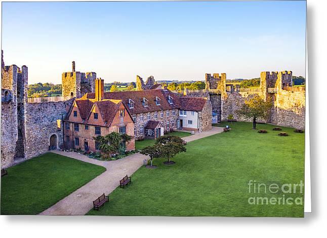 Framlingham Castle Greeting Card by Svetlana Sewell