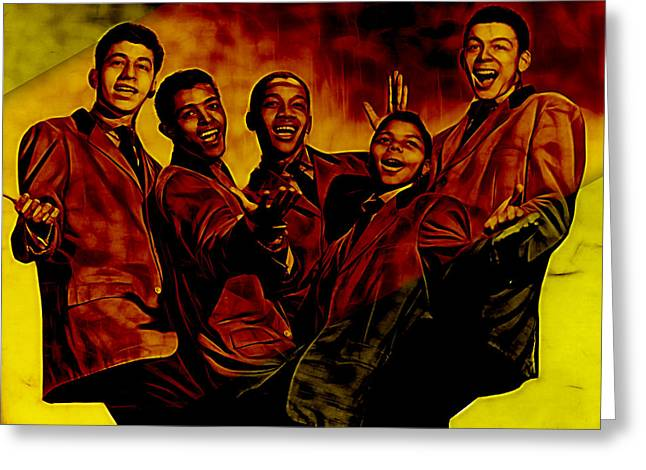 Frankie Lymon Collection Greeting Card