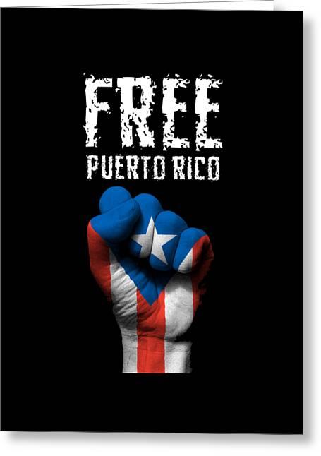 Free Puerto Rico Greeting Card