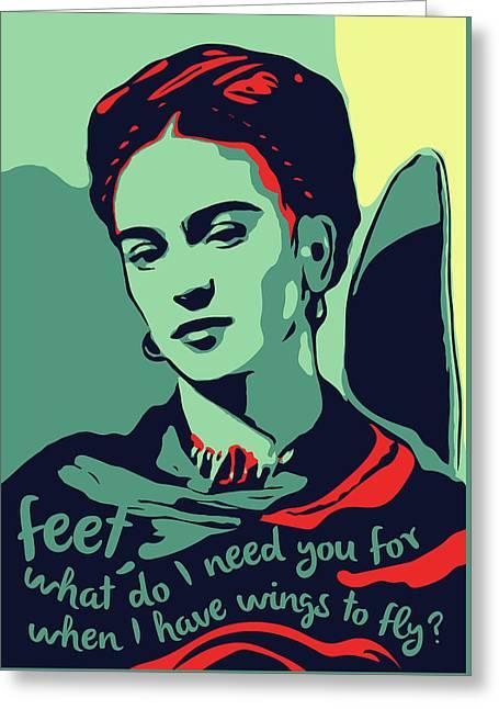 Frida Kahlo Greeting Cards Fine Art America