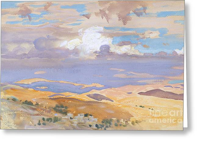 From Jerusalem Greeting Card by John Singer Sargent