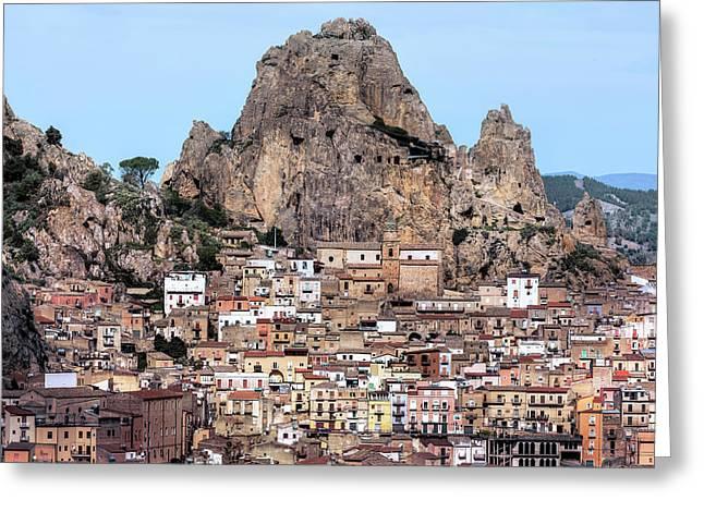 Gagliano Castelferrato - Sicily Greeting Card