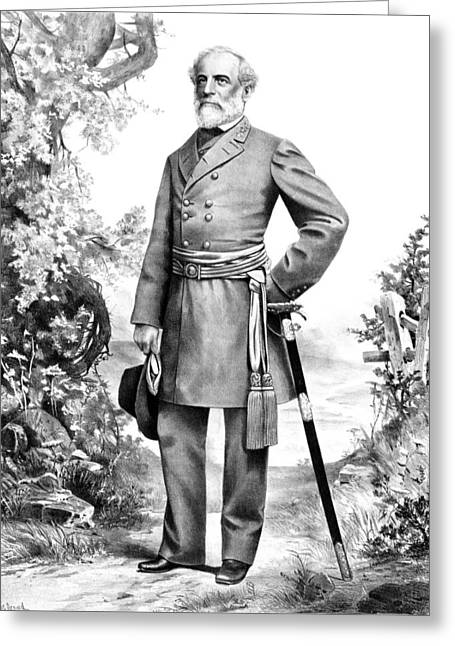 General Robert E. Lee Greeting Card