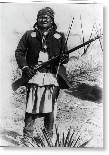 Geronimo 1886 Greeting Card